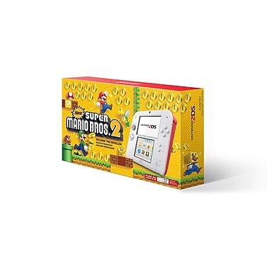 Ensemble Nintendo 2DS avec New Super Mario 2, rouge écarlate