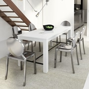Orren Ellis arienne Dining Table; White