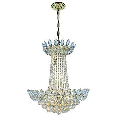 Rosdorf Park Glendora 10-Light Empire Chandelier; Gold