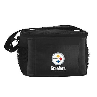 Kolder 6 Can Lunch Box Cooler; Pittsburgh Steelers