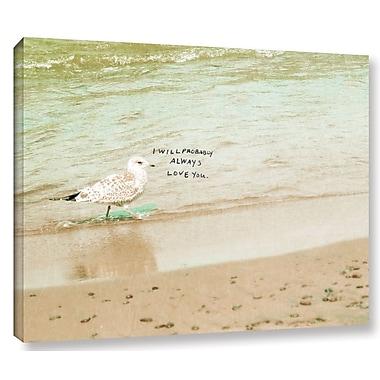 Highland Dunes 'Joy Journey' Photographic Print on Wrapped Canvas; 14'' H x 14'' W x 2'' D