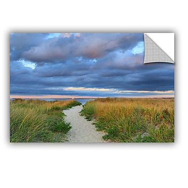 Highland Dunes 'Jetties Beach Path' Photographic Print; 12'' H x 18'' W x 0.1'' D