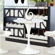 Latitude Run Gratz Wood Dining Table; 29'' H x 36'' W x 36'' D