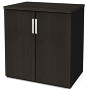Latitude Run Hartleton Storage Cabinet; Black