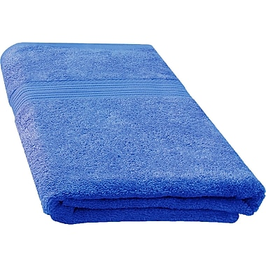 Latitude Run Ringspun Bath Towel; Navy