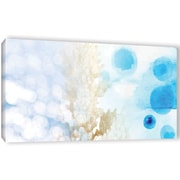 Bay Isle Home 'Beach Morning' Graphic Art Print on Wrapped Canvas; 12'' H x 24'' W x 2'' D