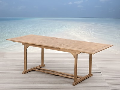 August Grove Montmiral Teak Dining Table