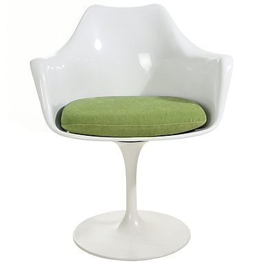 Latitude Run Gratz Lounge Chair; Green