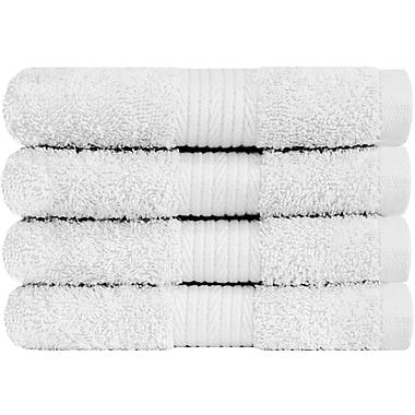 Latitude Run Solid Hand Towel (Set of 4); White