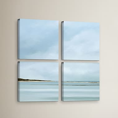 Highland Dunes 'Integrity' 4 Piece Painting Print on Wrapped Canvas Set; 48'' H x 48'' W x 2'' D
