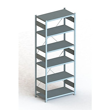 META Storage Solutions Inc. Clip S3 Basic Rack Shelving Unit; 98'' H x 36'' W x 20'' D