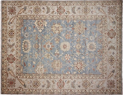 Bloomsbury Market Chancery Hand-Knotted Wool Brown Area Rug
