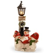 Alcott Hill 13'' Lighted Christmas D cor Figurine