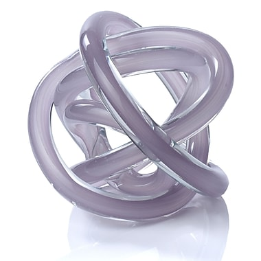 Ebern Designs Edgington Glass Knot