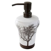 Loon Peak Circletree Tree of Life Ceramic Lotion Soap Dispenser