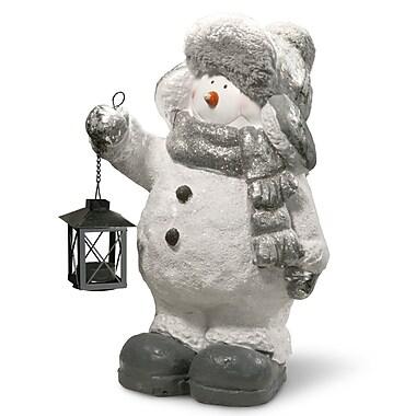Red Barrel Studio 16'' Snowman D cor Figurine