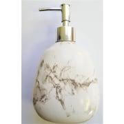 Ivy Bronx Abboud Roman Palace Smoky Marble Lotion Soap Dispenser