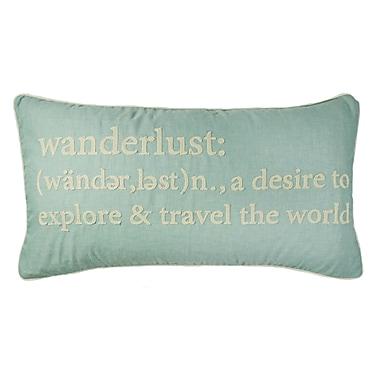 Ivy Bronx Ables Wanderlust Definition Lumbar Pillow