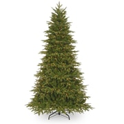 Loon Peak 9' Fir Artificial Christmas Tree w/ Clear Lights