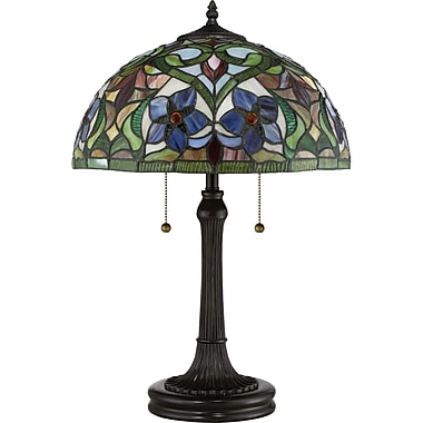 August Grove Yerres Tiffany 23.5'' Table Lamp