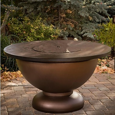 CC Products Penny Bowl Steel Propane Gas Fire Pit Table