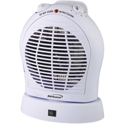 Brentwood Oscillating 2,000 Watt Electric Fan Compact Heater