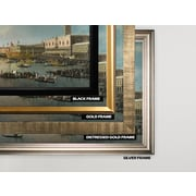 Darby Home Co 'Venice The Basin' Rectangle Framed Oil Painting Print on Wrapped Canvas