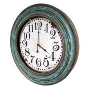 Gracie Oaks Nique Oversized Analog 26.75'' Wall Clock
