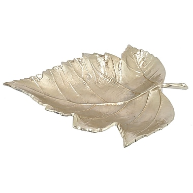 Darby Home Co Chardae Leaf Decorative Bowl