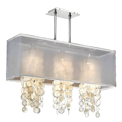 Everly Quinn Salerna 4-Light Kitchen; White