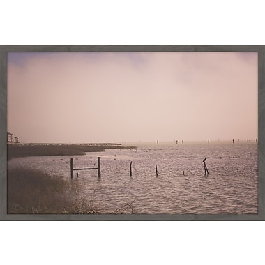 Highland Dunes 'Foggy Morning' by Ann Barnes Framed Photographic Print On Paper; 24'' H x 36'' W