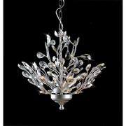JoJoSpring Holly 4-Light Crystal Chandelier