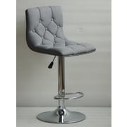 Ivy Bronx Ahart Adjustable Height Swivel Bar Stool