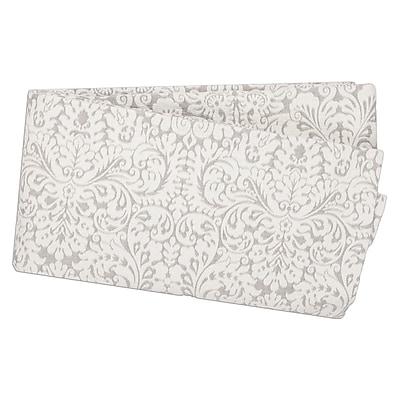 One Allium Way Peasley Traditional 100pct Cotton 3 Piece Duvet Set; King