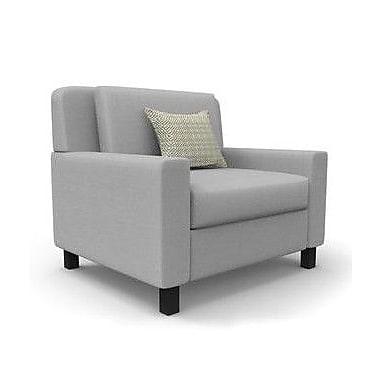 Latitude Run Hensel Chair; Gray