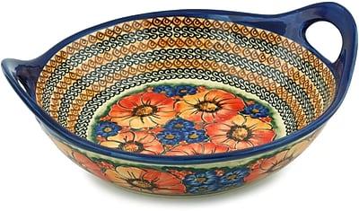 Polmedia Bright Beauty Serving Bowl w/ Handles
