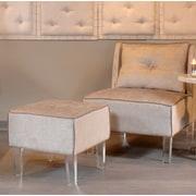 Rosdorf Park Purcell Acrilico Slipper Chair