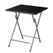 Symple Stuff Oversized Metal Folding Tray Table