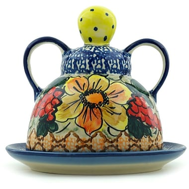 Polmedia Colorful Bouquet Cheese Lady Condiment Server