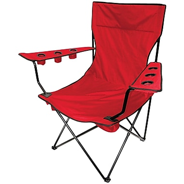 Creative Outdoor - Chaise pliante King-Pin, rouge (810170)