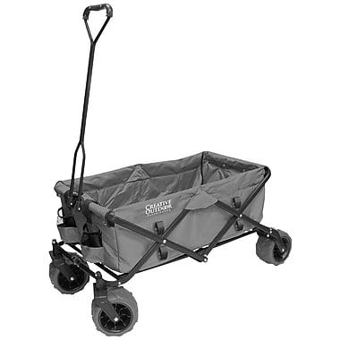 Creative Outdoor All-Terrain Folding Wagon, Gray (900210)