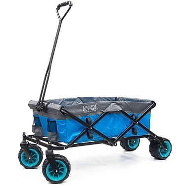 Creative Outdoor Folding Wagon All-Terrain