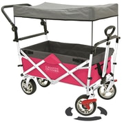 Creative Outdoor Push/Pull Folding Wagon and Canopy