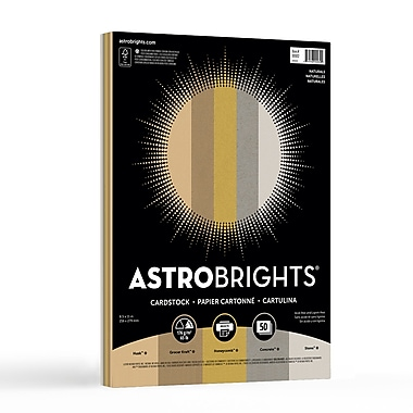 Astrobrights® Colored Cardstock, 8.5
