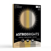 "Astrobrights Colored Cardstock, 8.5"" x 11"", 65 lb/176 gsm, ""Natural"" 5 Color Assortment, 50/Pack (99972)"