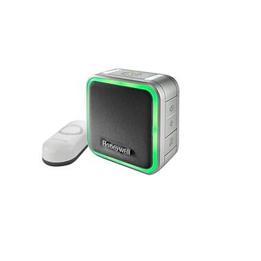 Honeywell – Sonnette enfichable avec bouton-poussoir et veilleuse (RDWL515P2000/E)