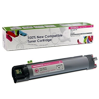 fuzion™ - Cartouche de toner haut rendement neuve 332-2117 compatible Dell, magenta
