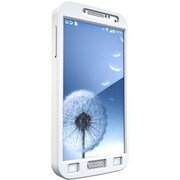 TAMO Sports Armband Carrying Case for Samsung Galaxy S4, White (MT-ARS4W)