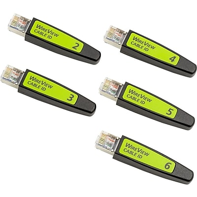 NetScout WireView Cable IDs #2-6 (WIREVIEW 2-6)