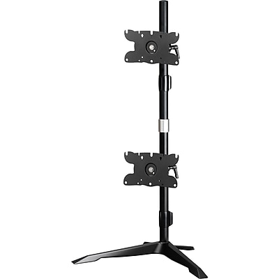 Amer Dual Monitor Stand Vertical Mount Max 32